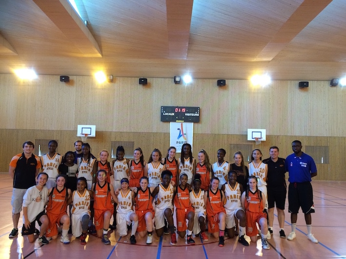 Basketball tour to France girls teams