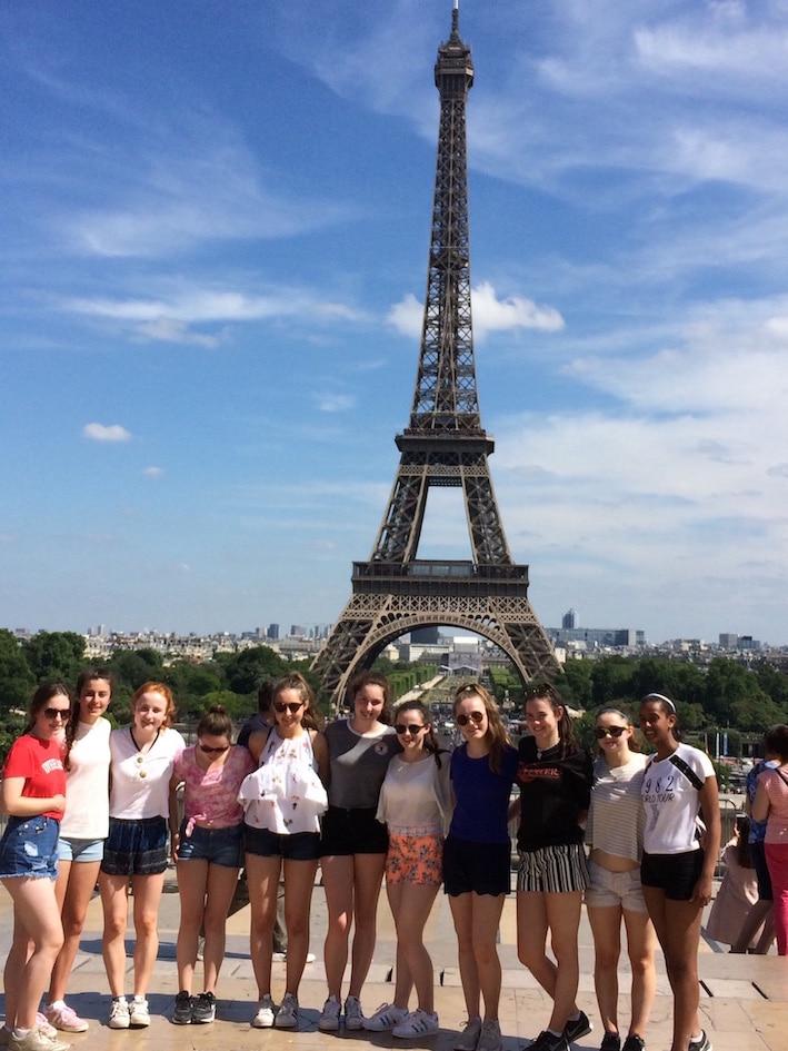 Basketball tournament Paris France