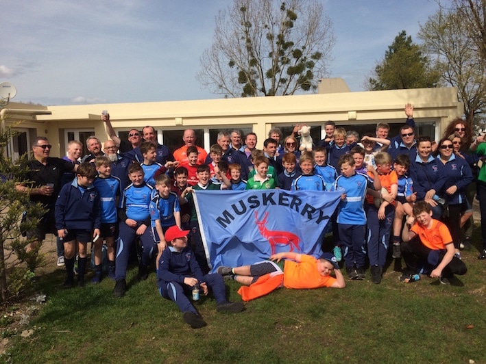 Minis rugby on tour in France