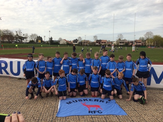 U11' rugby tour to France