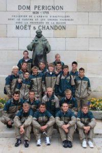 U17s rugby tour to Paris