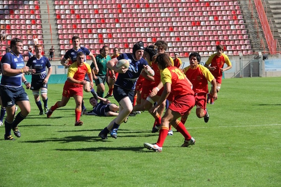 U19' rugby tour to France