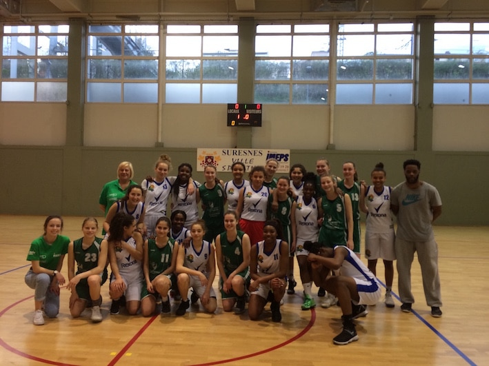 basketball tour to France girls U16