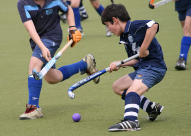 Jeunes - hockey sur gazon