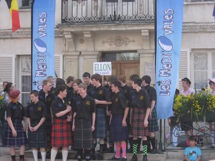 rugby trip U16s France
