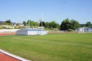 football pitch sport preparation