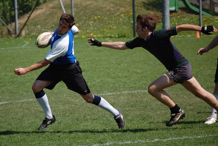 touch rugby tour to Paris