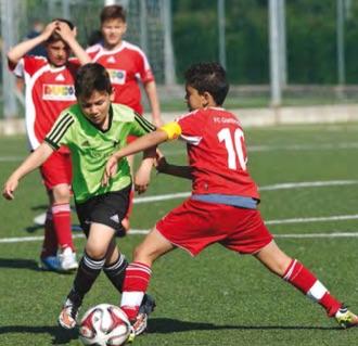 tournoi football jeunes U12 Italie