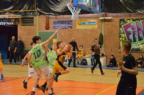 U11 basketball tournament France