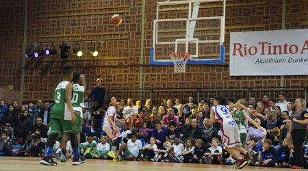 U11 international basketball tournament