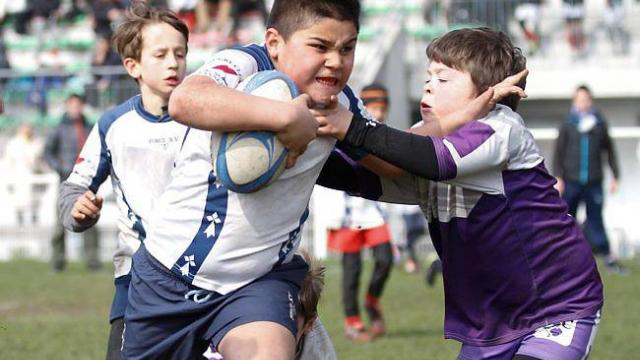 U11 rugby tour to France
