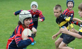 mini rugby tours France