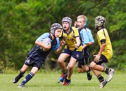 U11 rugby trip to France