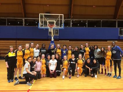 basketball tours girls to Paris