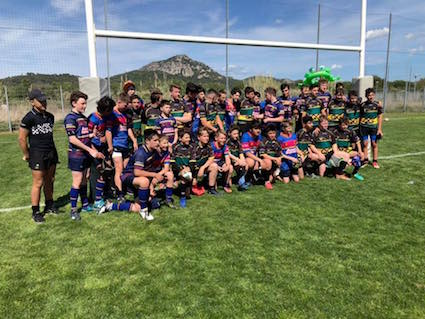 U13's rugby tour to France