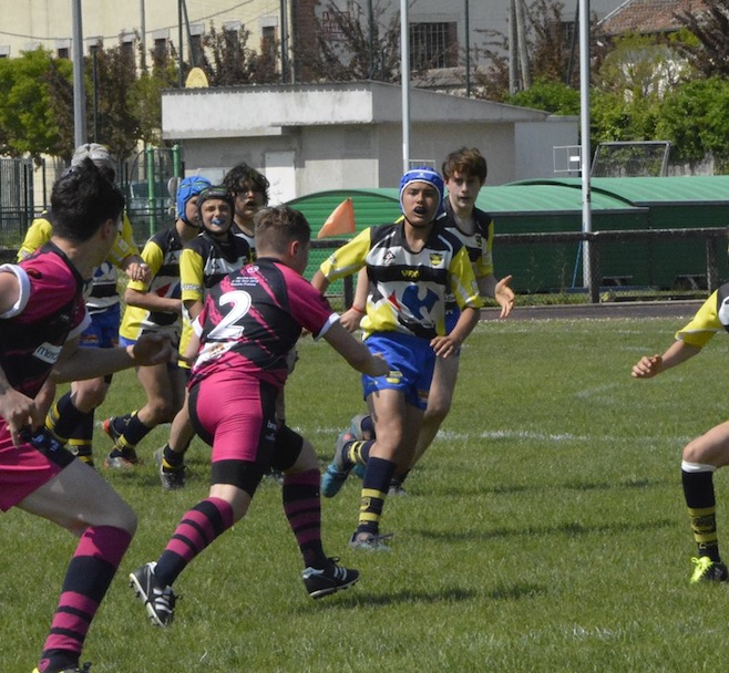 U14s rugby tournament in Europe