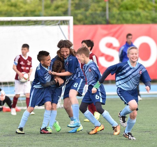 U15's soccer tournament